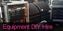 DIY Disco / PA Equipment / Lighting Hire